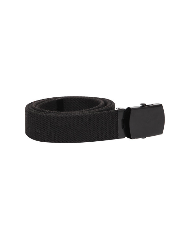 black buckle  belt - unisex