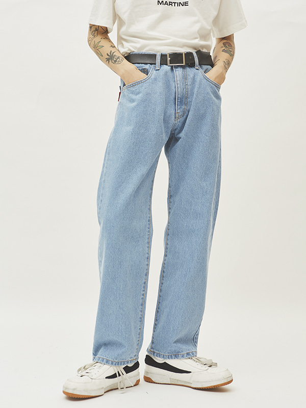 original straight denim pants (3 color) - UNISEX
