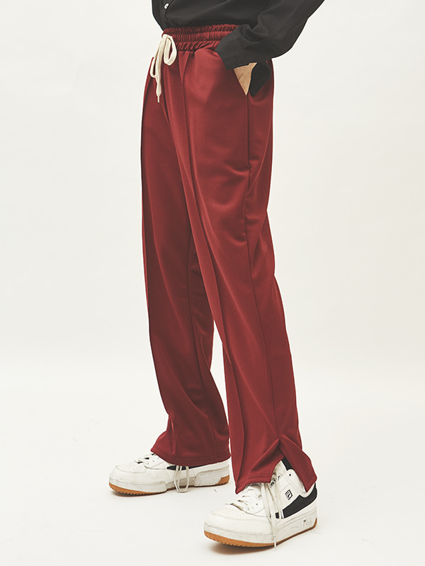 slit string sweat pants (4 color) - UNISEX