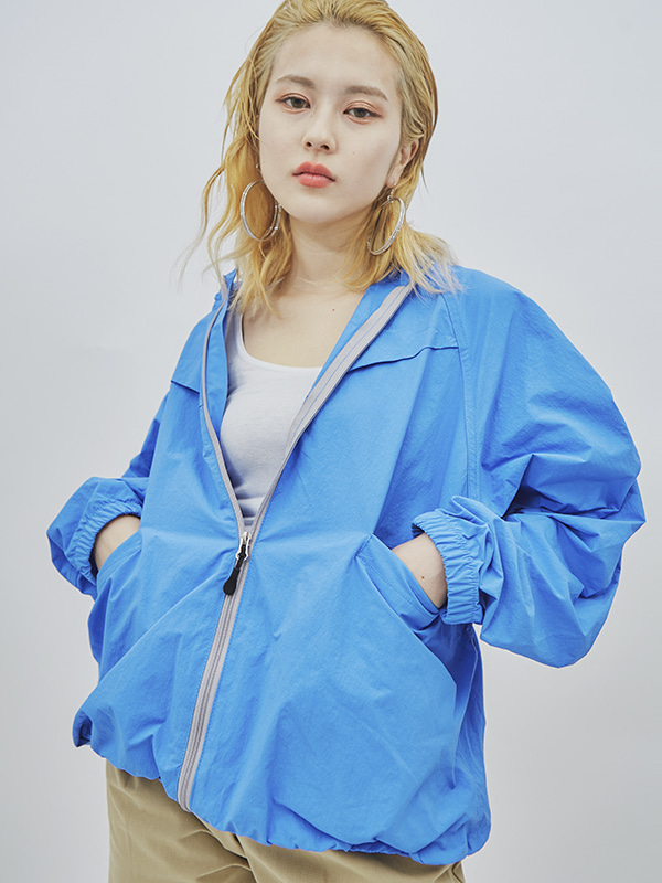string control wind breaker (3 color) - UNISEX