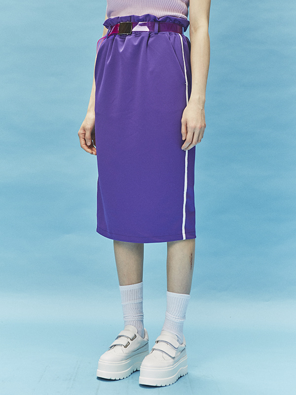 sporty belt set skirts (4 color)